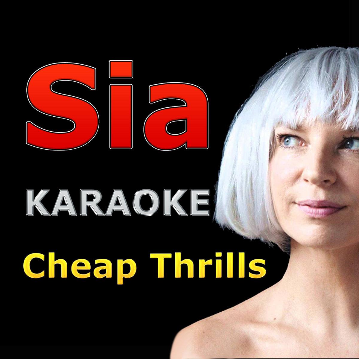 Sia - Cheap Thrills (Karaoke Backing Track)   More Than Rock