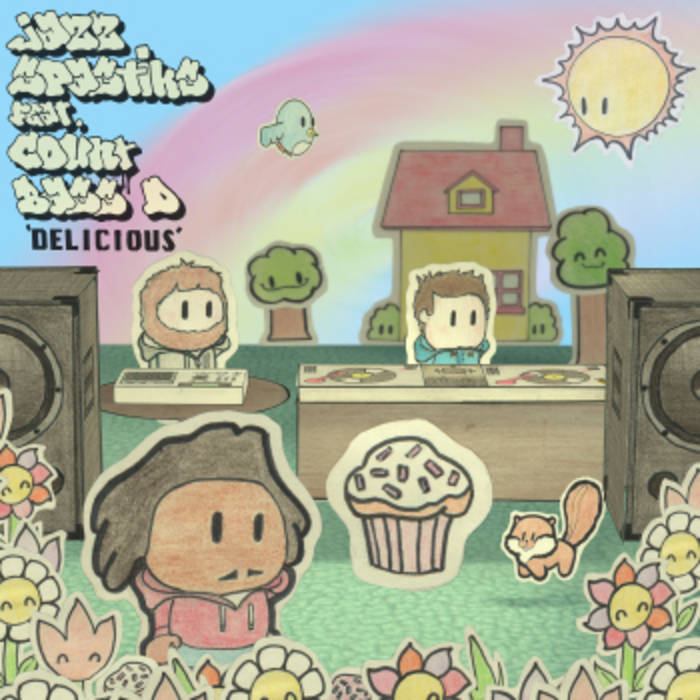 Delicious feat Count Bass D cover art