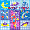 PZL087: Magic Crayon - Patchwork Cover Art