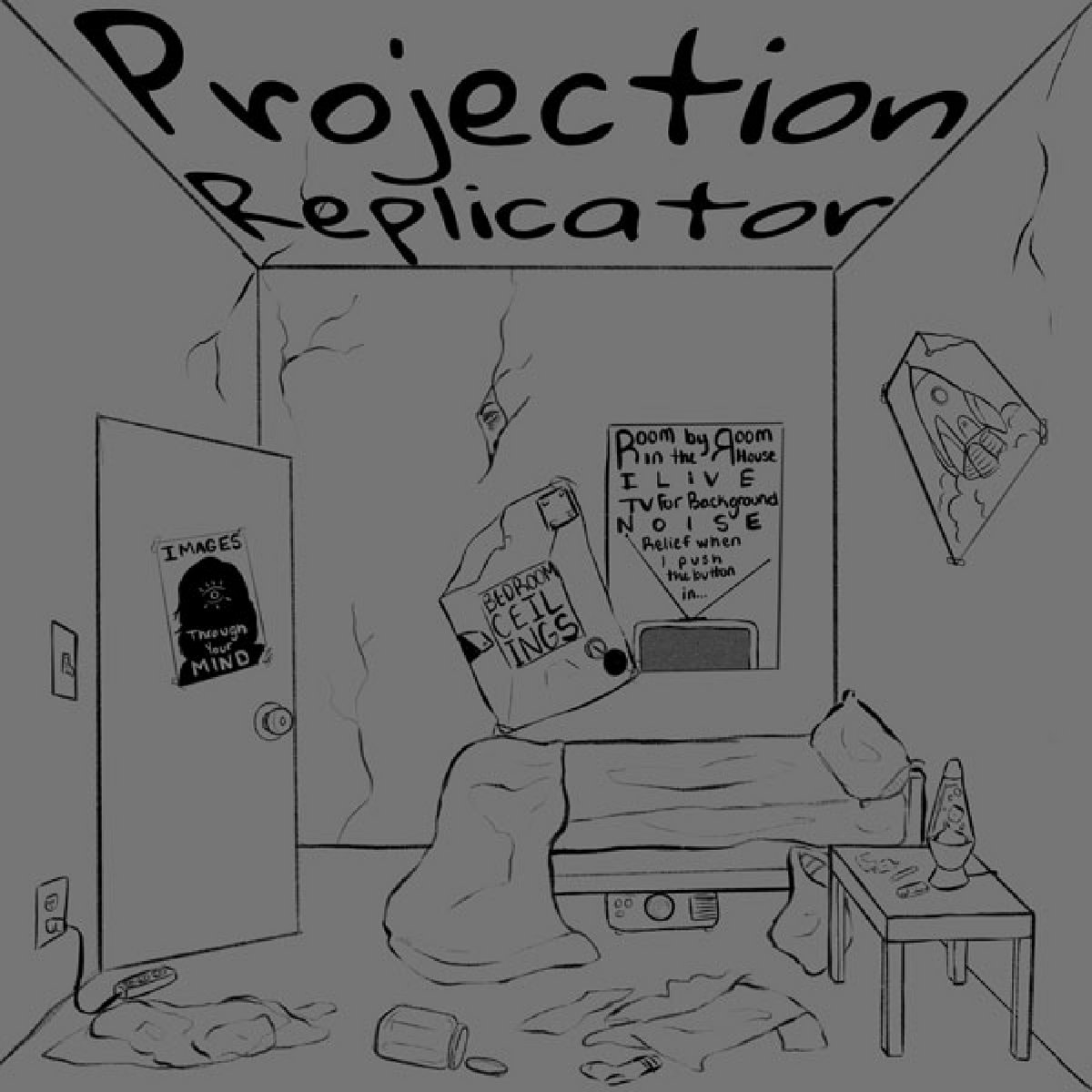 Projection Replicator Bedroom Ceilings