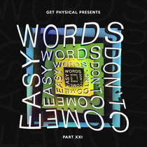 Words Don't Come Easy Vol. 7 cover art