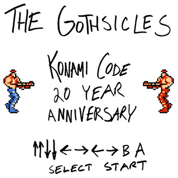 Konami Code 20th Anniversary EP by The Gothsicles