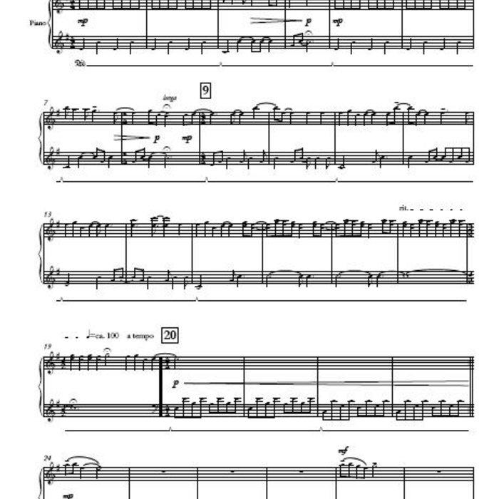 Oceans (Where Feet May Fail) - Hillsong United Sheet Music