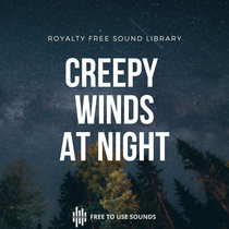 Creepy Wind Sounds At Night Download Wind Sound Effects cover art