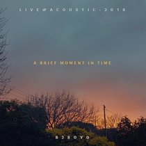 A Brief Moment in Time (Live & Acoustic 2018) cover art