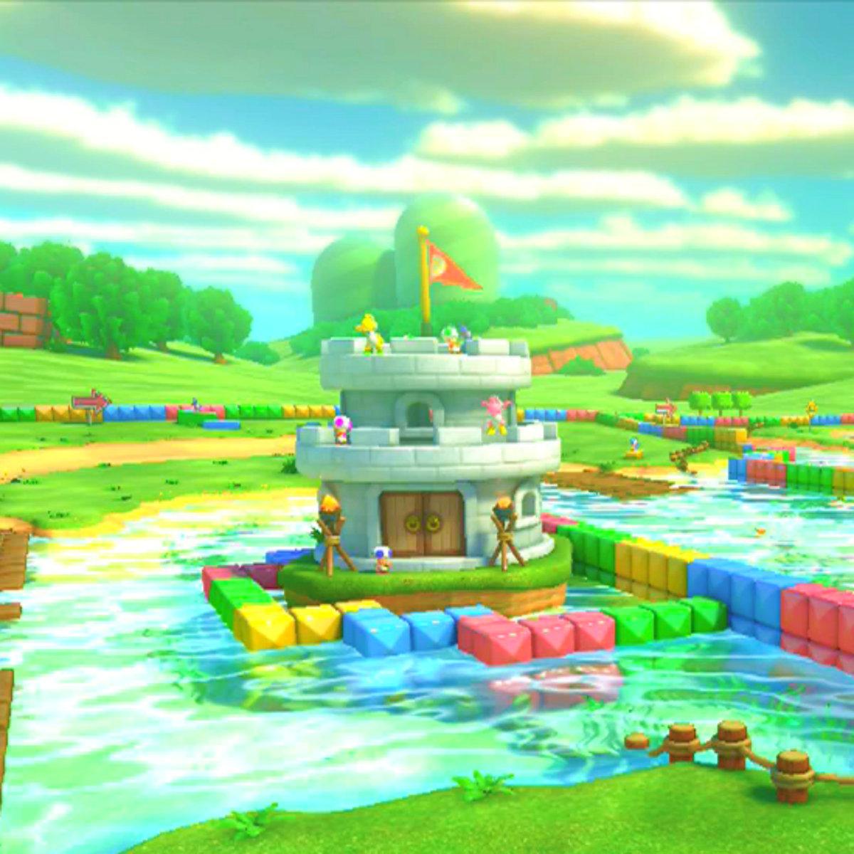 Donut Plains - Super Mario World (BW Soundfont Remix) | Gee