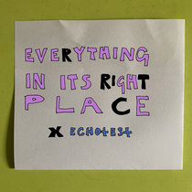 everything in its right place [radiohead cover] cover art