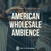 Grocery Sounds Wholesale Store Ambience USA cover art