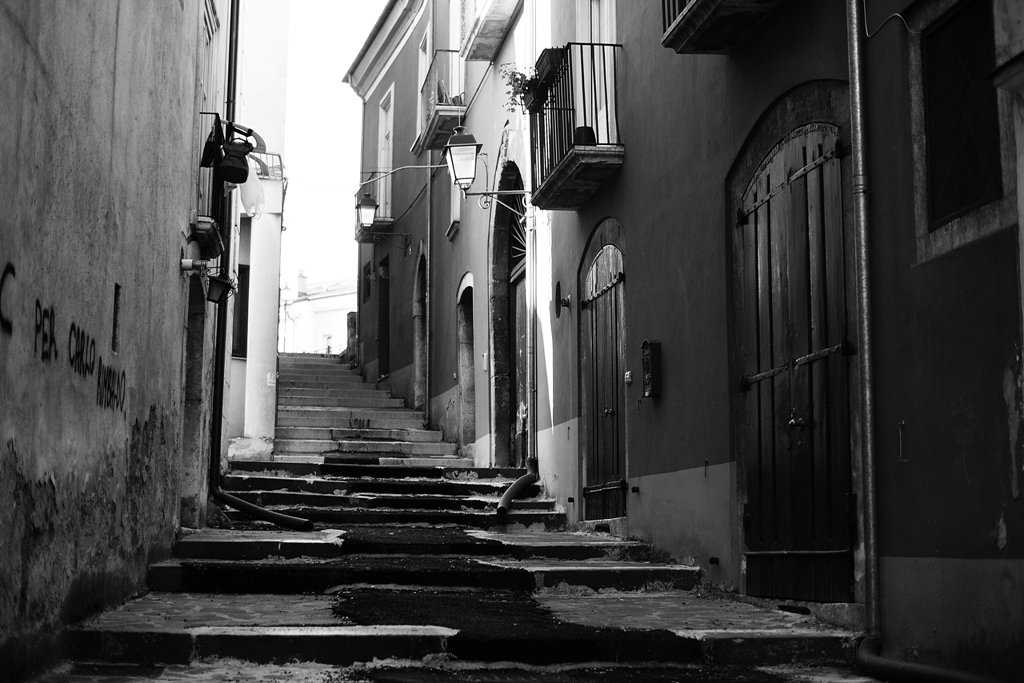 Black And White Postcard From >> Postcards From Avellino Fabio Orsi