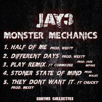Monster Mechanics cover art