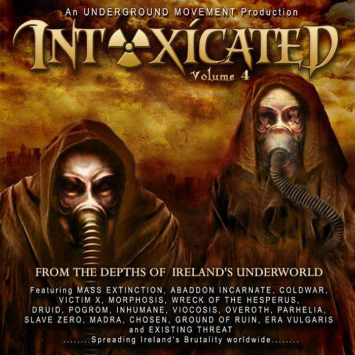 inTOXICated Vol. 4 cover art