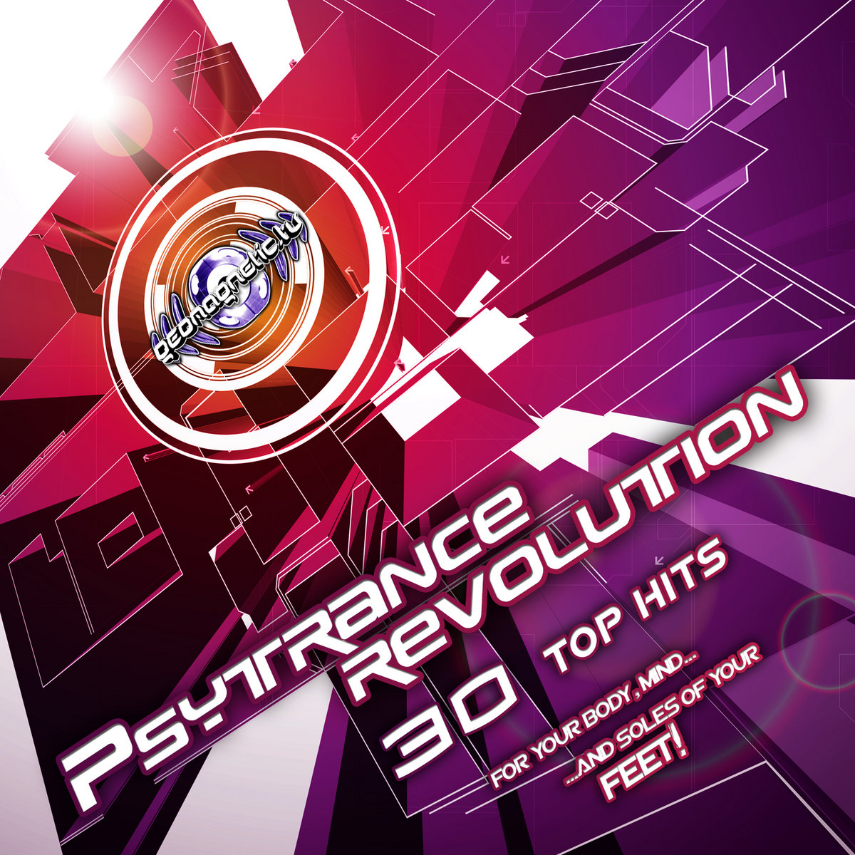 Psytrance Revolution (30 Top Hits) | Geomagnetic Records