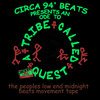 CIRCA 94 BEATS PRESENTS AN ODE TO A TRIBE CALLED QUEST: the peoples low end midnight beats movement tape Cover Art