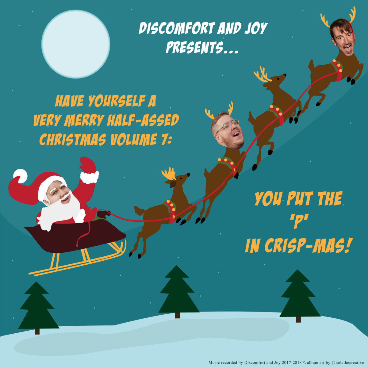 That Eagles Christmas Song (You Know The One) | Discomfort and Joy
