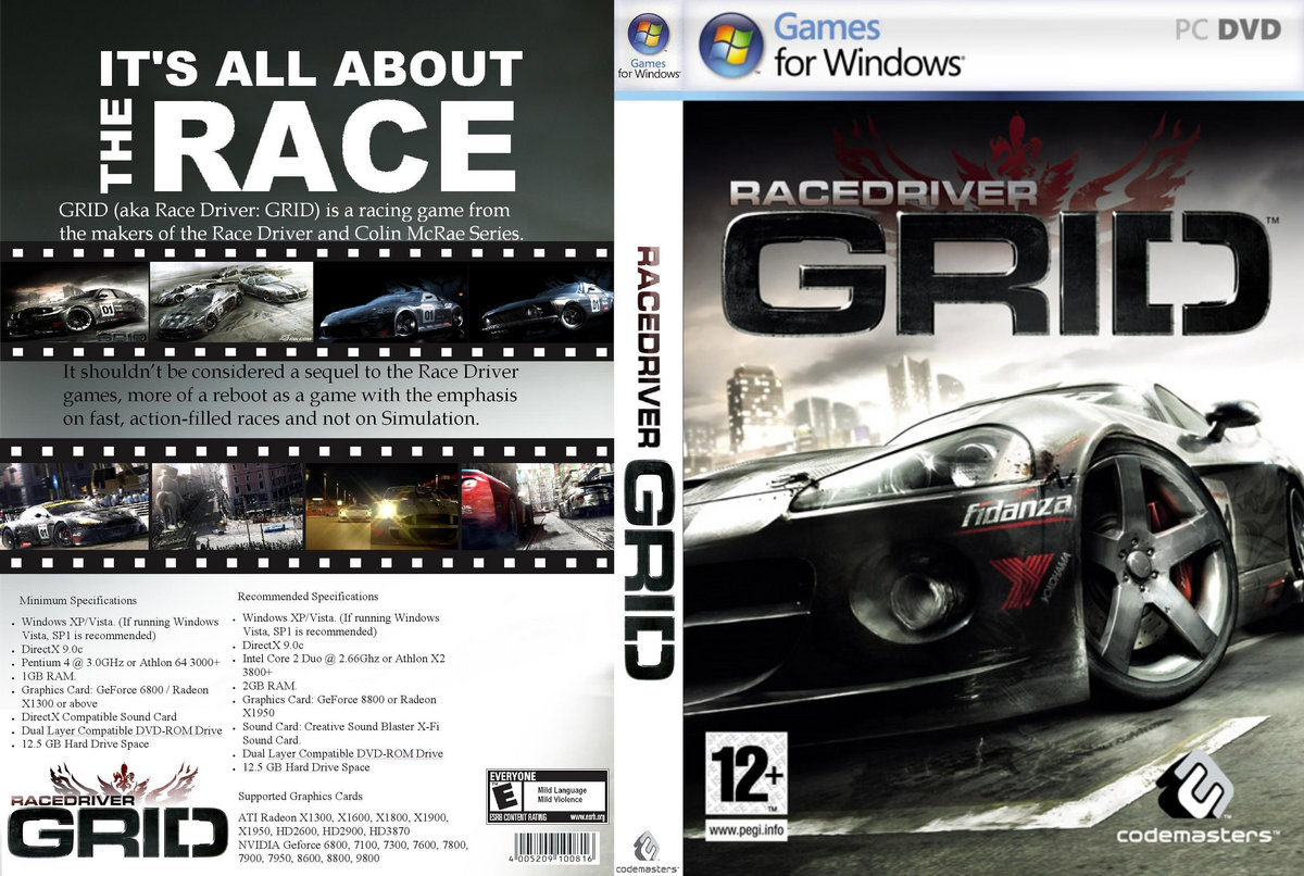 Torrent dowonloadig game race driver grid youtube.