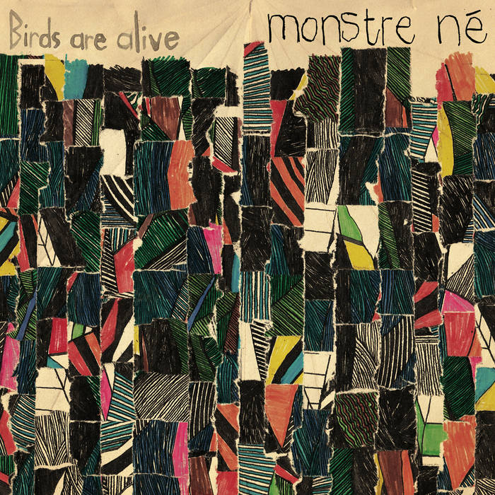 MONSTRE Né cover art
