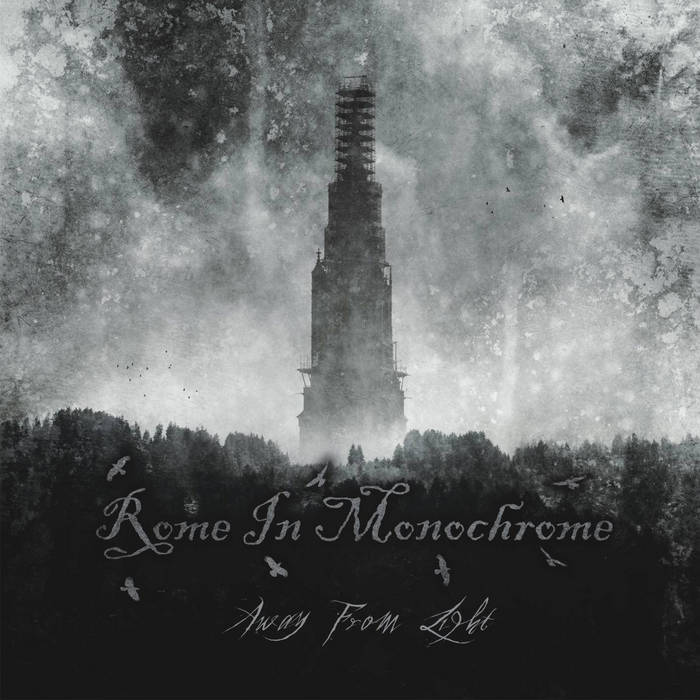 Дебютный альбом ROME IN MONOCHROME - Away From Light (2018)