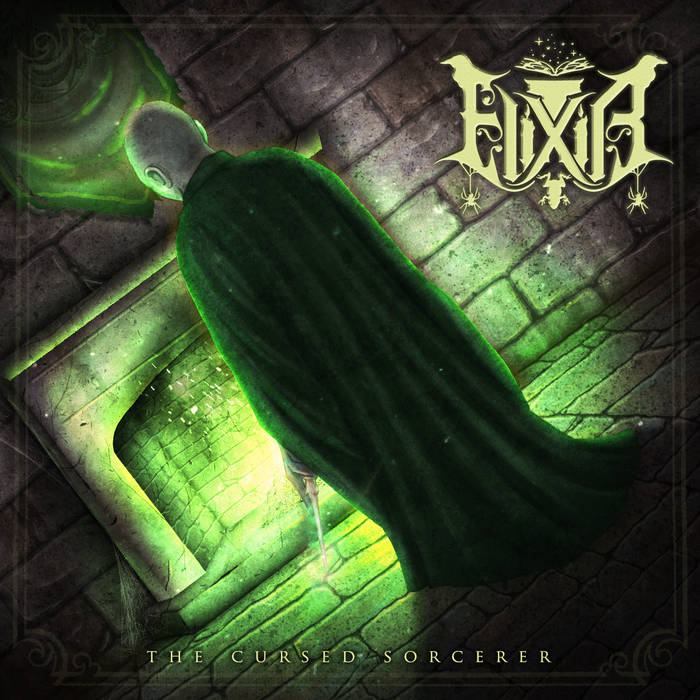 elixir the cursed sorcerer dungeon synth le scribe du rock