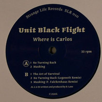 (Strange Life Records SLR010) Where Is Carlos cover art