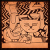 Harper Lee / Cats Run Free Cover Art