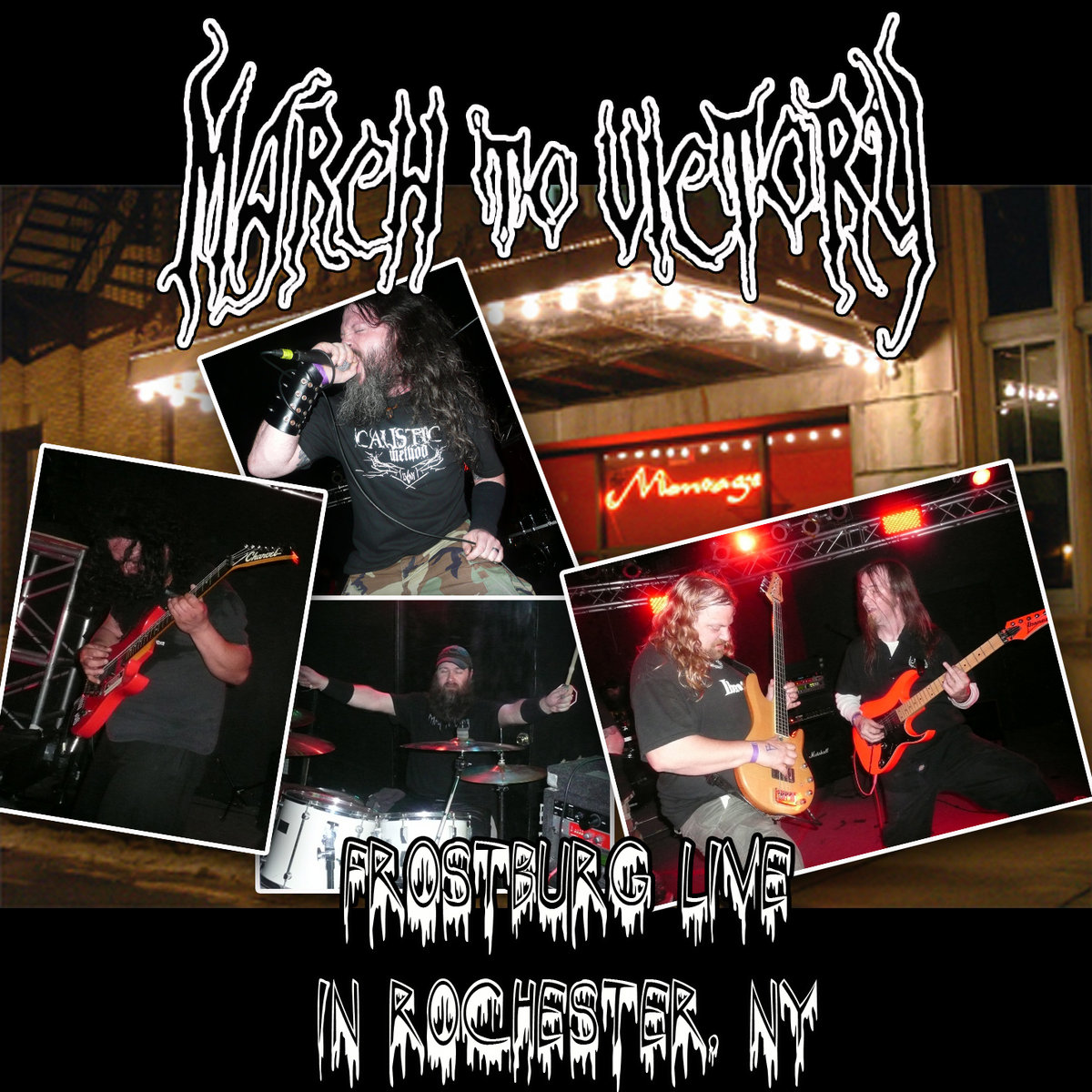 Frostburg Live From Rochester Ny Born Of Chaos Records