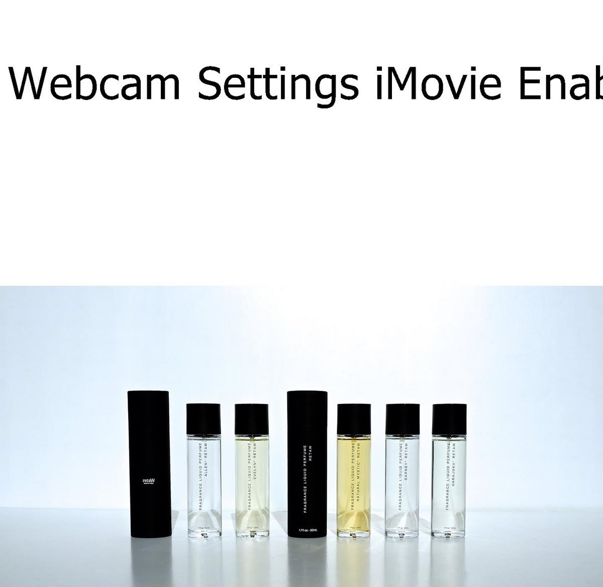 where download 1 0 webcam settings imovie enabler for Mac