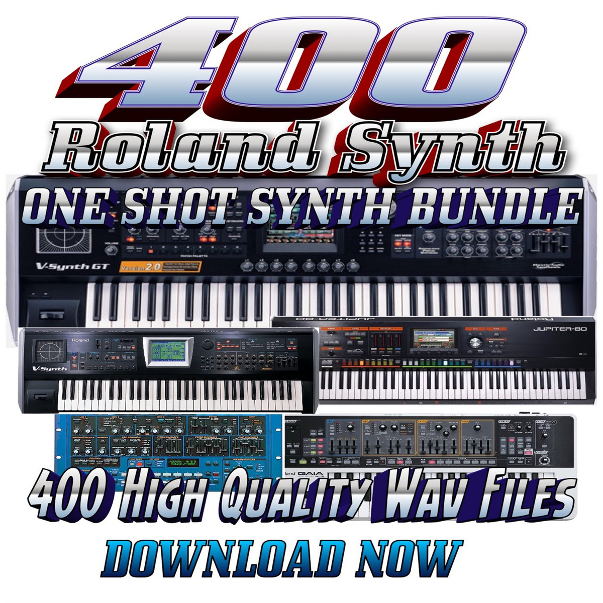 Roland Vintage Harp Synth One Shot (One of the 400 One Shot Synths