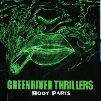 "Limited Edition 7"" Vinyl by Greenriver Thrillers & Stereo Creeps"