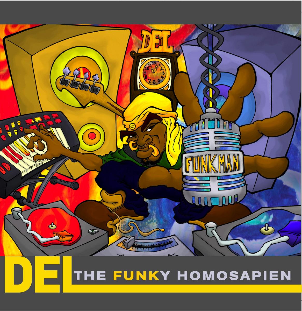 Resultado de imagen para Del Tha Funky Homosapien - Funk Man (The Stimulus Package)