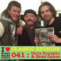 "Ep 041 : ""The Bloke"" Chris Franklin & Brad Oakes love the 27/09/12 Letters cover art"