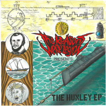 024 - The Hunley EP by THE REASONS WERE LEGION