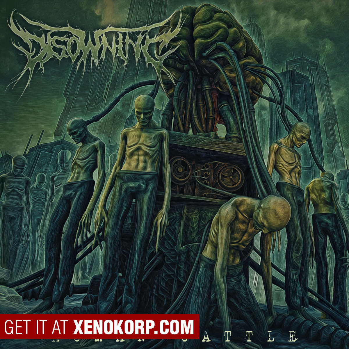 disowning human cattle death metal le scribe du rock