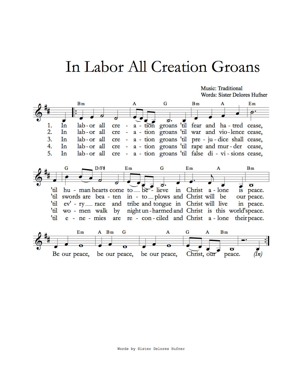 In labor all creation groans bifrost arts music from lamentations by bifrost arts music hexwebz Images