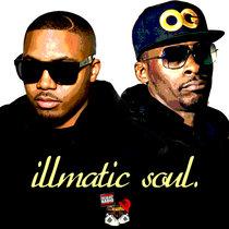 Nas & Pete Rock - illmatic soul (EP) cover art