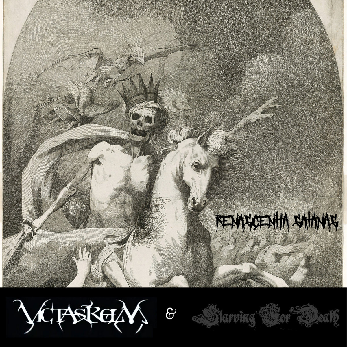 Renascentia Satanas by Victasrelm and Starving For Death