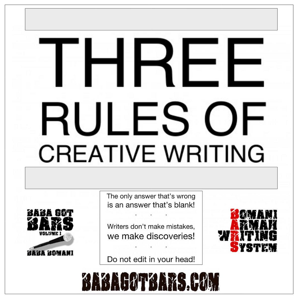 creative style of writing