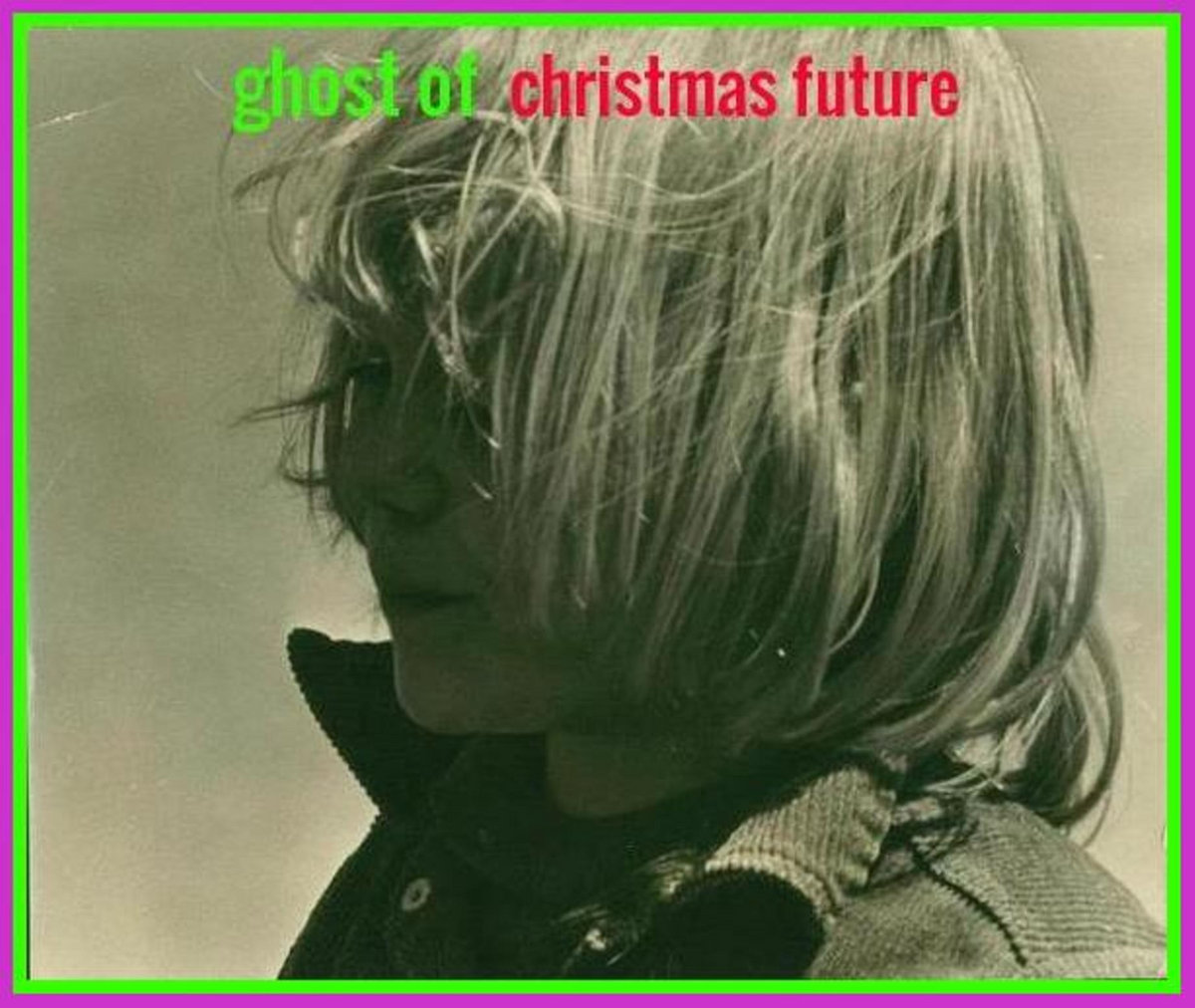 The Ghost Of Christmas Future.Ghost Of Christmas Future Eric Gaffney Grey Matter X
