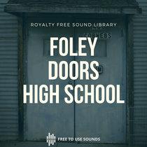 Door Sounds American High School Creaky & Spooky Door Sound Effects cover art