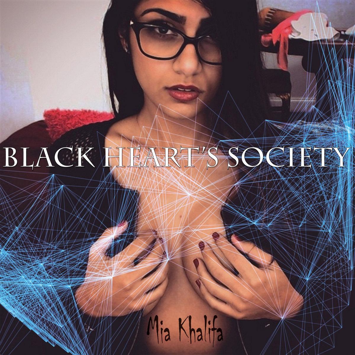 mia khalifa | black heart's society