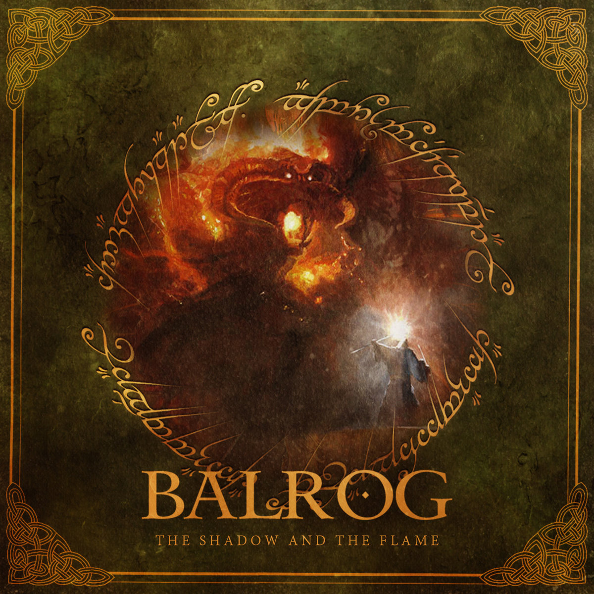 balrog Dungeon synth music JRR Tolkien Lord Of The Rings Fantasy