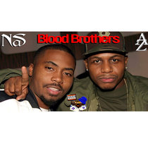 Az & Nas - Blood Brothers cover art