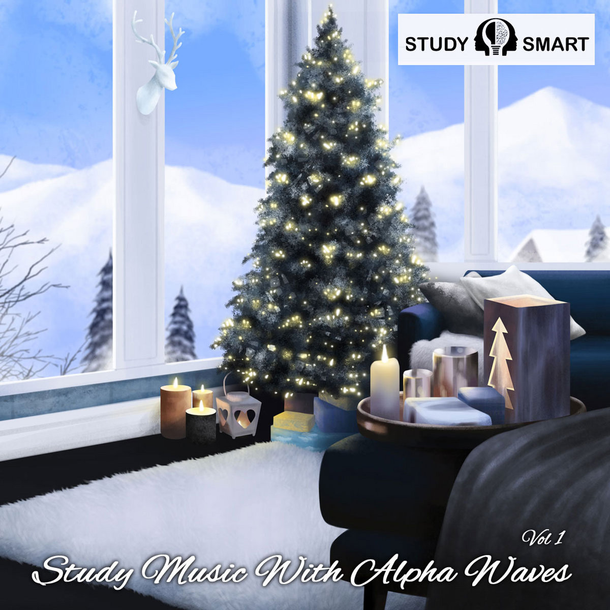 Study Music With Binaural Alpha Waves (Vol 1) | STUDY SMART