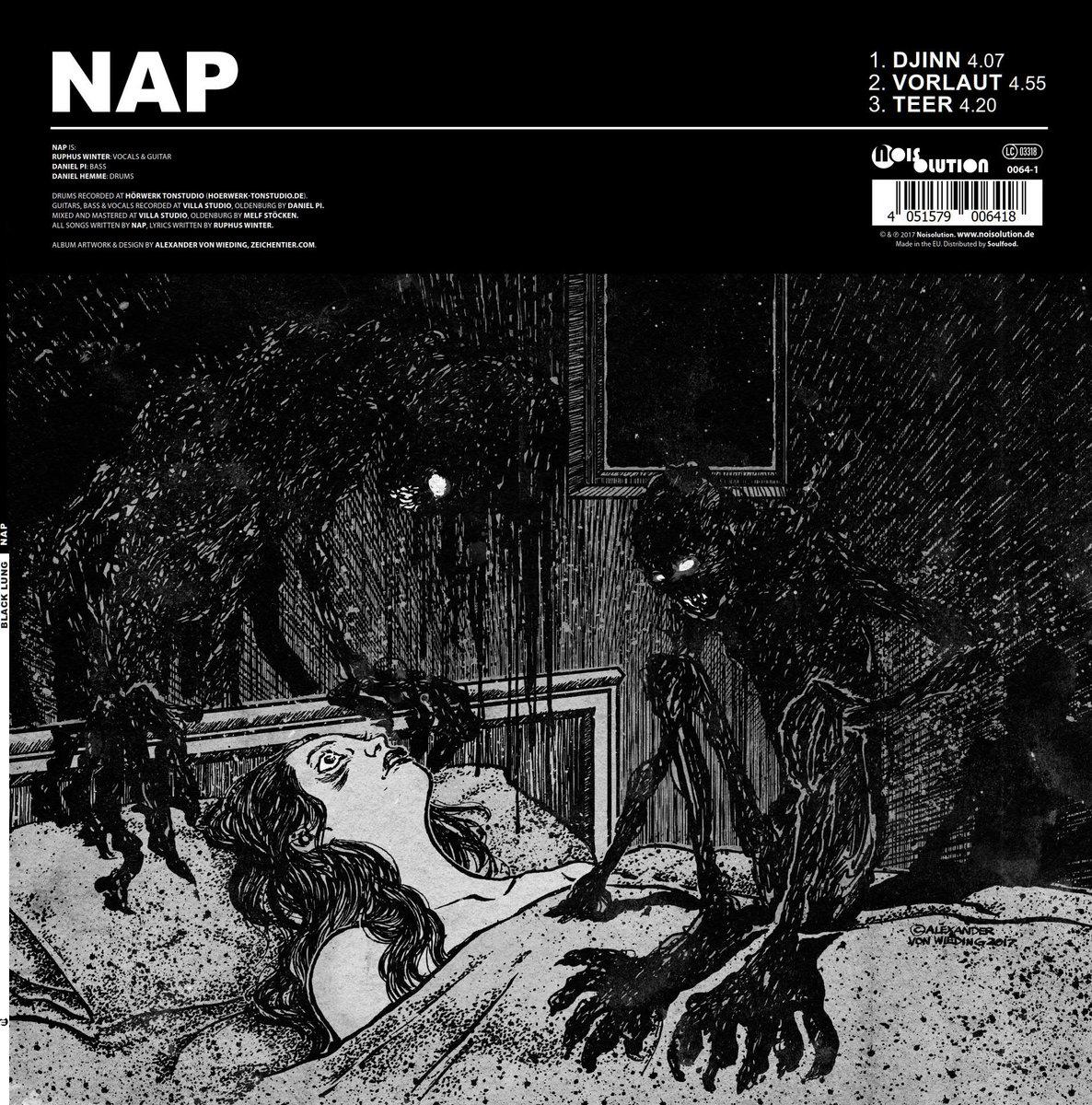 Nap Vs Black Lung Split 12 Quot White Vinyl Strictly