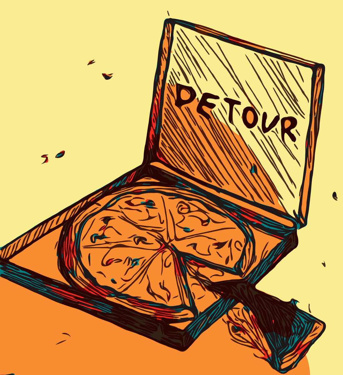 Detour - Just A Slice [EP] (2018)