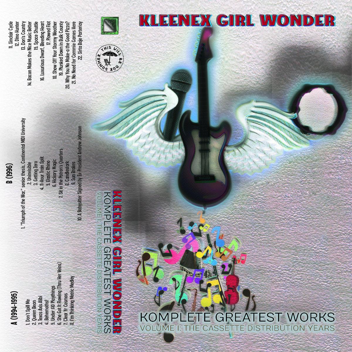 Komplete Greatest Works Vol  1 | Kleenex Girl Wonder