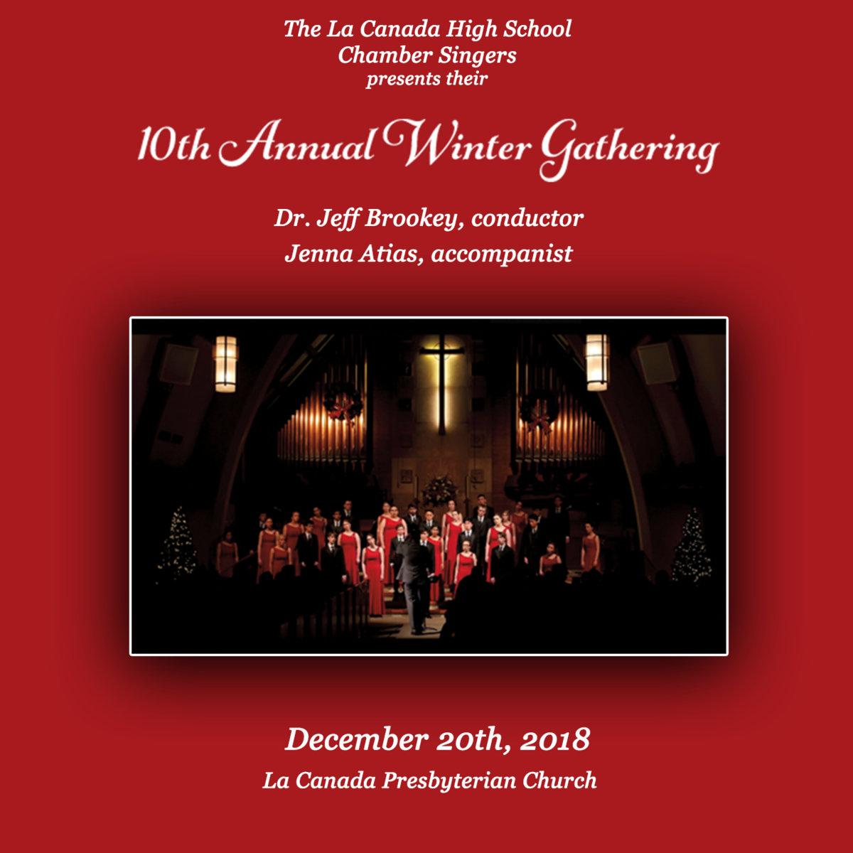 2018-2019 Chamber Winter Gathering | LCHS Choral