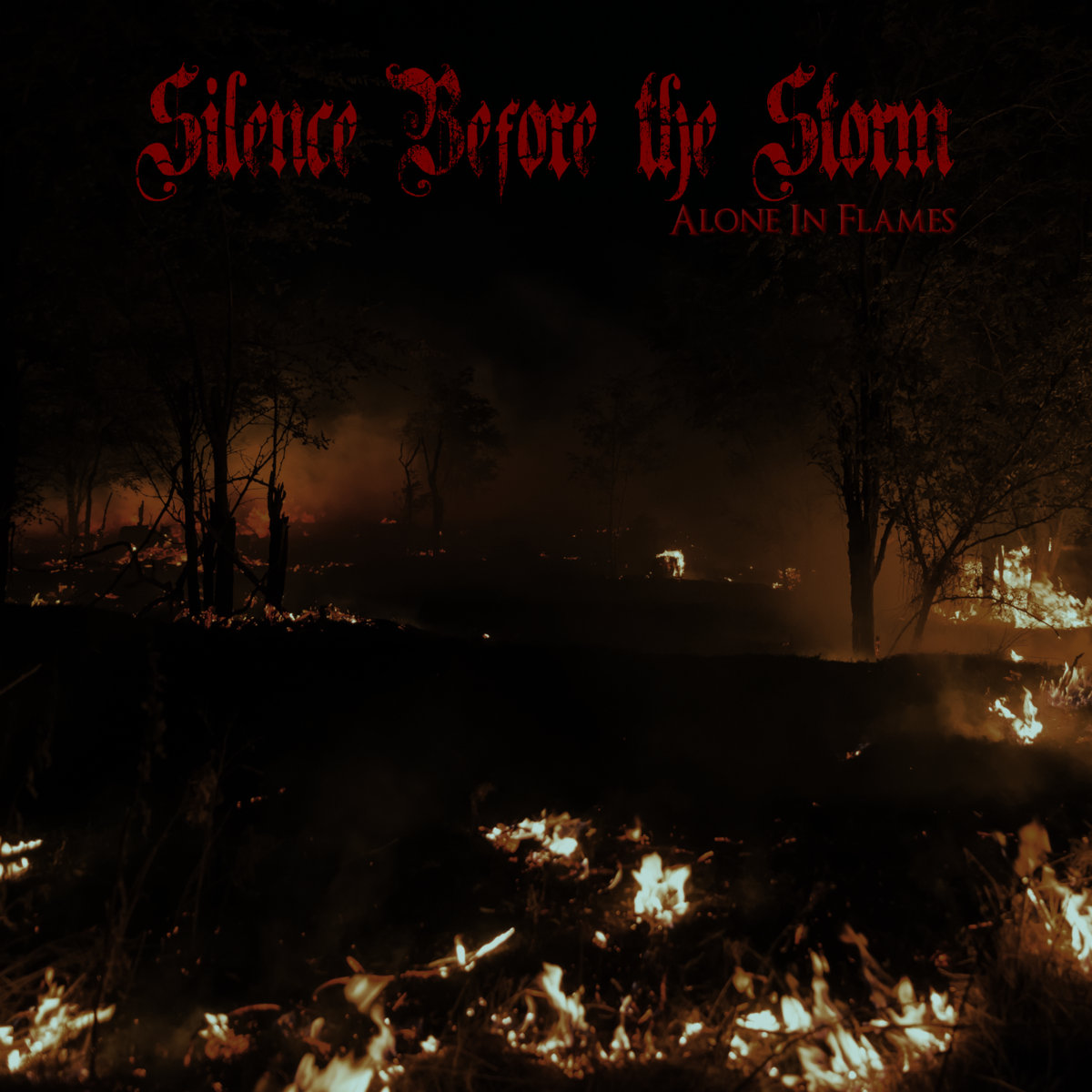 Silence Before the Storm - Alone in Flames (2020)