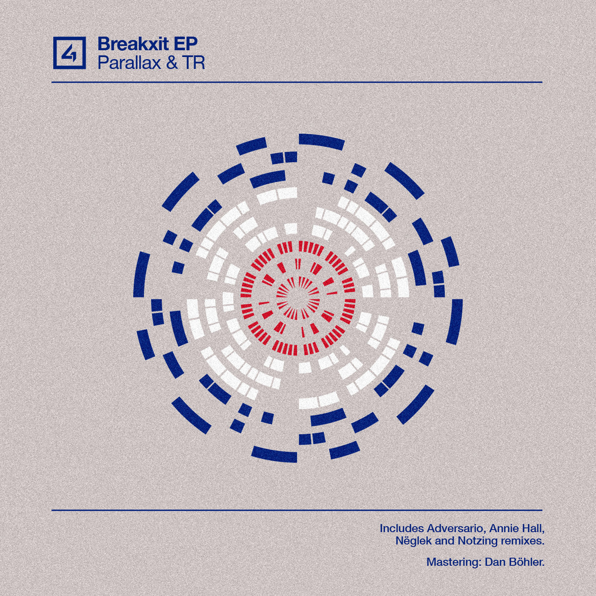 Parallax & TR - Breakxit EP (incl  Adversario, Annie Hall