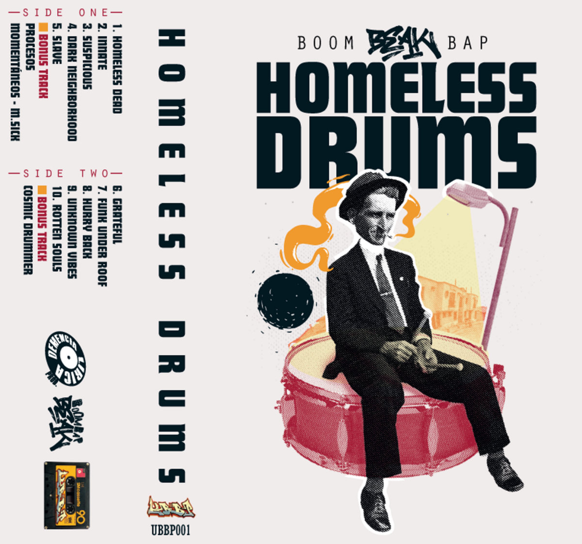 Boom Bap Beak Homeless Drums Unknown Boom Bap Project