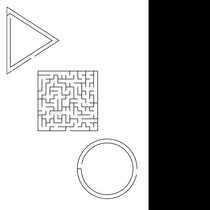 Three Mazes cover art